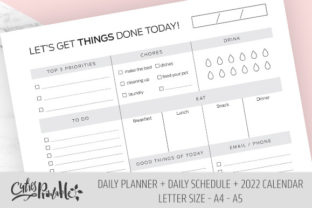 Daily & Schedule, to Do List 2022 - 4