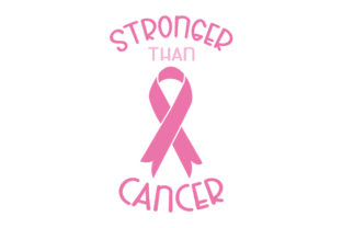 Stronger Than Cancer Cancer Awareness Craft Cut File By Creative Fabrica Crafts