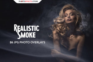 86 Realistic Smoke Photo Overlays Graphic Actions & Presets By PhotoEffects.Store
