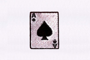 Classic Spades Card Toys & Games Embroidery Design By StitchersCorp