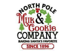 North Pole Cookie Company Christmas Embroidery Design By Thread Treasures Embroidery