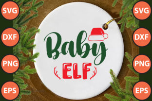 Print on Demand: Baby Elf Svg Cut File Graphic Print Templates By hossainfabrica