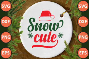 Print on Demand: Snow Cute Svg Cut File Graphic Print Templates By hossainfabrica