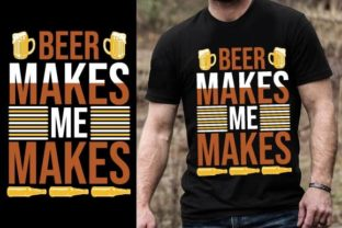 Print on Demand: Beer Makes Me Hoppy Graphic Graphic Templates By Design Online Store