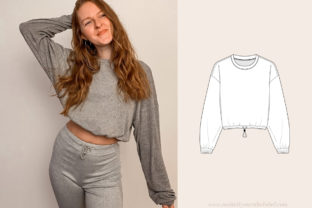 Sweater Sewing Pattern Graphic Sewing Patterns By Make It Yours - The Label
