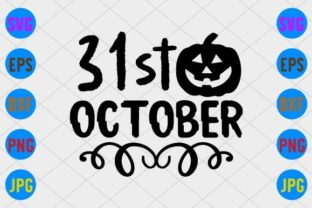 31st October Graphic Print Templates By craftSVG