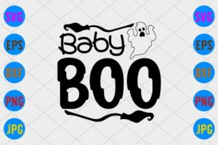 Baby Boo Graphic Print Templates By craftSVG