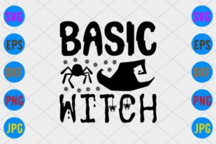 Basic Witch Graphic Print Templates By craftSVG