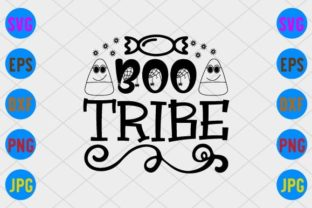 Boo Tribe Graphic Print Templates By craftSVG