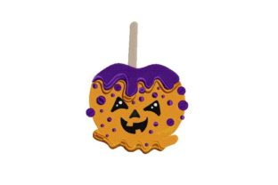 Candy Apple Halloween Embroidery Design By Thread Treasures Embroidery