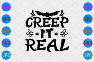 Creep It Real Graphic Print Templates By craftSVG