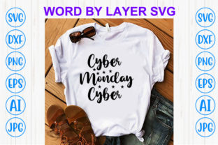 Print on Demand: Cyber Monday Cyber Graphic Print Templates By Sohel_Art