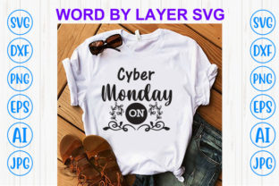 Print on Demand: Cyber Monday on Graphic Print Templates By Sohel_Art
