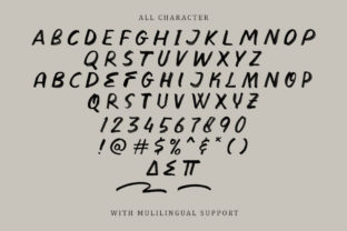 Print on Demand: Divine Stone Display Font By letterhend 9