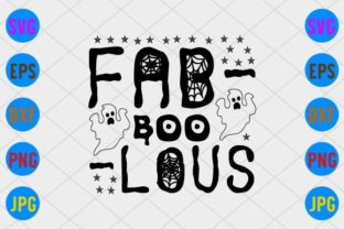 Fab-Boo-Lous Graphic Print Templates By craftSVG