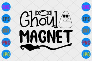 Ghoul Magnet Graphic Print Templates By craftSVG