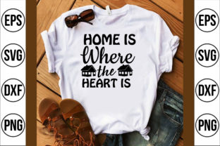 Home is Where the Heart is Graphic Crafts By Najirbd