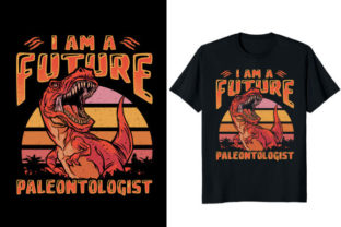 Print on Demand: I Am a Future Paleontologist Dinosaur Graphic Print Templates By At Merch Tees