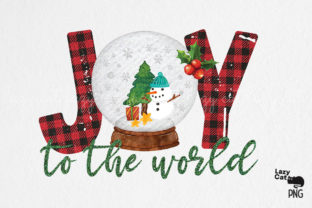 Joy to the World Sublimation Graphic Print Templates By Lazy Cat
