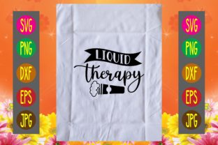 Print on Demand: Liquid Therapy Graphic Print Templates By printSVG