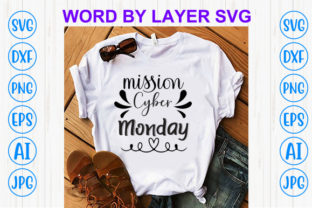 Print on Demand: Mission Cyber Monday Graphic Print Templates By Sohel_Art