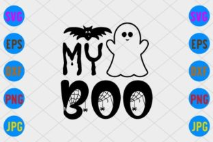 My Boo Graphic Print Templates By craftSVG