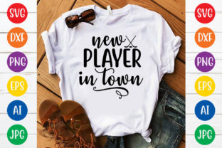 New Player in Town Svg Design Graphic Print Templates By MegaSVGArt