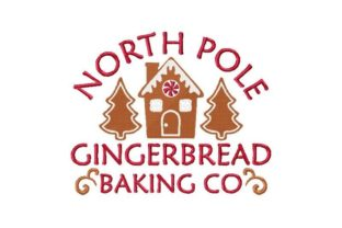 North Pole Gingerbread Baking Company Christmas Embroidery Design By Thread Treasures Embroidery
