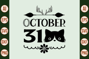 Print on Demand: October 31 SVG Graphic Crafts By nirmal108roy