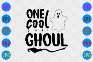 One Cool Ghoul Graphic Print Templates By craftSVG