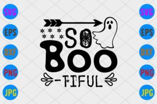 So Boo-Tiful Graphic Print Templates By craftSVG