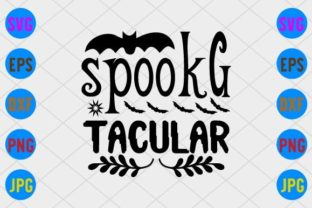 Spook-Tacular Graphic Print Templates By craftSVG