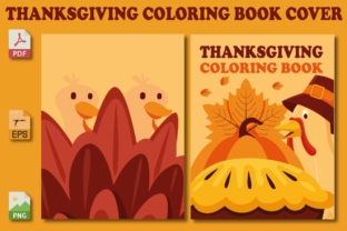 Thanksgiving Coloring Book Cover Graphic Coloring Pages & Books Kids By Pro Designer
