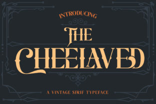 Print on Demand: The Cheelaved Serif Font By almarkhatype 1