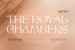 Print on Demand: The Royal Chambers Display Font By letterhend