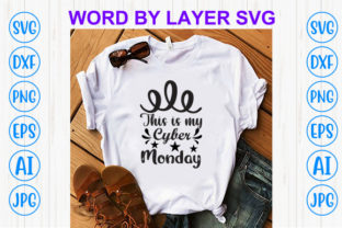 Print on Demand: This is My Cyber Monday Graphic Print Templates By Sohel_Art