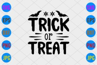 Trick or Treat Graphic Print Templates By craftSVG