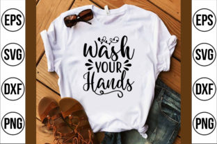 Wash Your Hands Graphic Crafts By Najirbd