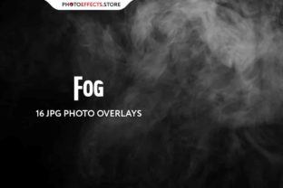 16 Fog Photo Overlays Set Graphic Actions & Presets By PhotoEffects.Store