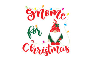 Gnome for Christmas Christmas Craft Cut File By Creative Fabrica Crafts