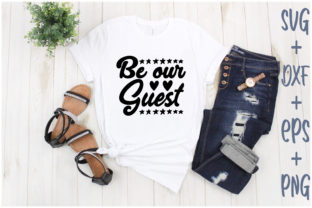 Print on Demand: Be Our Guest Graphic Print Templates By Creative_Artist