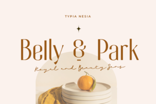 Print on Demand: Belly and Park Sans Serif Font By Typia Nesia