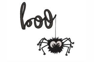 Boo Halloween Embroidery Design By LizaEmbroidery
