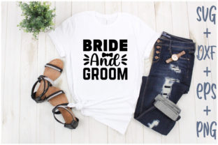Print on Demand: Bride and Groom Graphic Print Templates By Creative_Artist