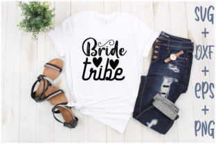 Print on Demand: Bride Tribe Graphic Print Templates By Creative_Artist