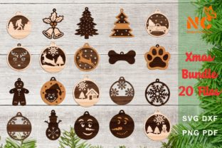 Christmas Ornaments Graphic Crafts By NiceCuts