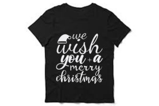 Christmas Svg Design, We Wish You a Graphic Print Templates By Mb Designer