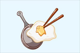 Cute Egg Vector Illustration Graphic Illustrations By neves.graphic777