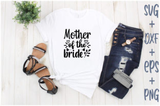 Print on Demand: Mother of the Bride Graphic Print Templates By Creative_Artist