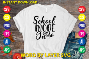 School Mode on Graphic Print Templates By RSvgzone